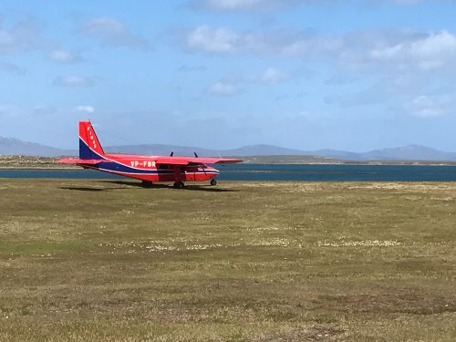 Falkland Wool Aeroplane